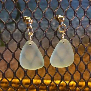 Jewelry - Handmade Jewelry 2/$15! Sea Glass Earrings!